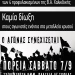 (Ελληνικά) Σχετικά με τις προσαγωγές και τη βίαιη λήψη DNA στις 14/3