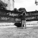 Φωτογραφίες από τη μικροφωνική στο Λευκό πύργο στις 24/5/14
